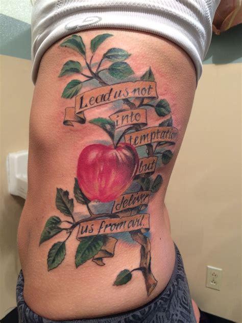 temptation tattoo lead us not into temptation tattoos tatt