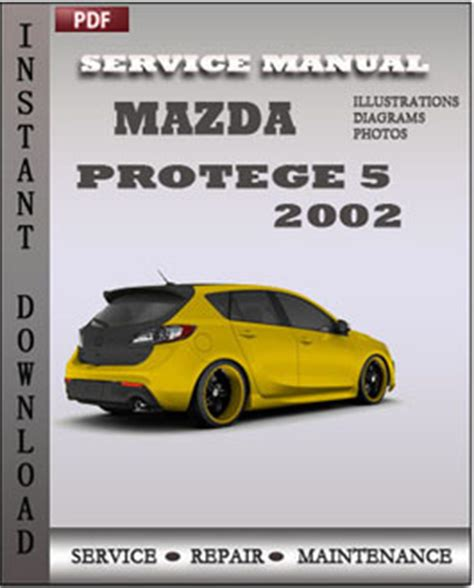 old car owners manuals 2002 mazda protege5 on board diagnostic system mazda protege 5 2002 service manual pdf global service manuals