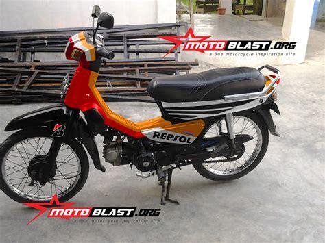 Striping Honda C70polet Honda C70 gambar modifikasi motor astrea modifikasi yamah nmax