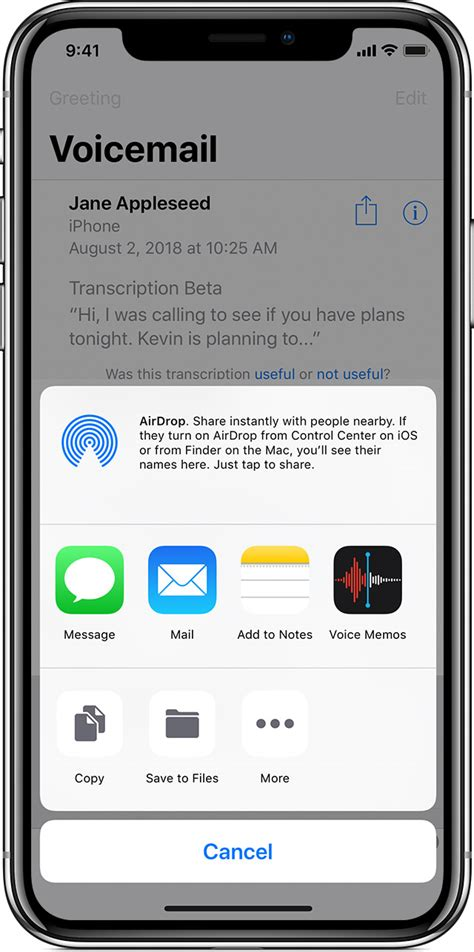 iphone voicemail save and visual voicemail messages on your iphone apple support