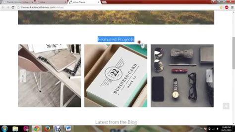 Tutorial Wordpress Virtue | virtue wordpress theme tutorial 1 youtube