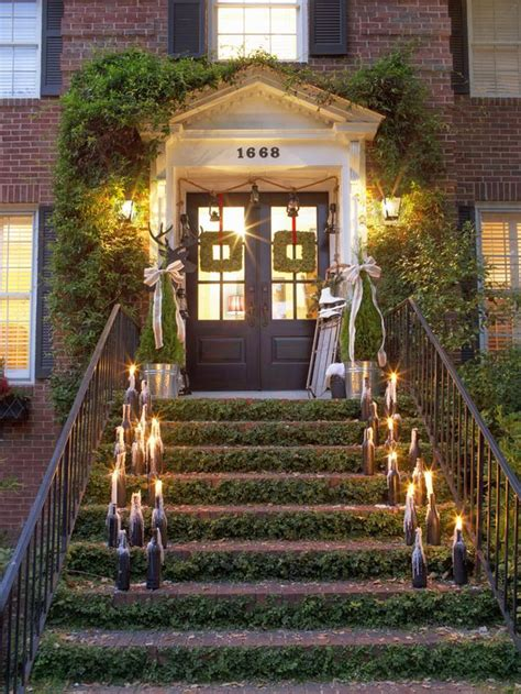 Pictures Of Homes Decorated For Outside by Outdoor Entryways Ideas Home Decoration Club