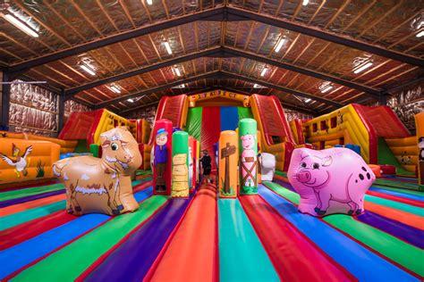 inflatable city  turoe pet farm galway