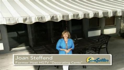 sunsetter awning commercial sunsetter tv commercial too hot featuring joan steffend