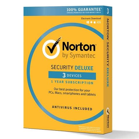 Norton Security norton security deluxe 3 devices pc software target