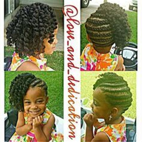 hairstyle using the krochet kids girls crochet braids style freetress deep twist kissable