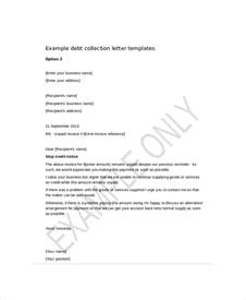 Debt Collection Template Letter Free by Debt Collection Template Letter Template 12 Free Word Pdf