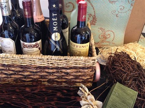 Wine Basket For Bridal Shower by For The Newlyweds Who Wine Bridal Shower Gift