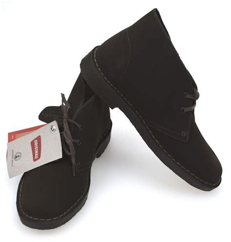 clarks shoes suede code desert boot suede ebay