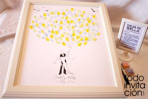 cuadro de firmas para boda cuadro de firmas con huellas para invitados cuadros de