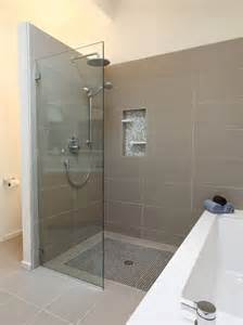 bathroom designs with walk in shower learn the pros and cons of a walk in shower