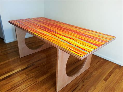 custom portable dining room table  queen   mediums