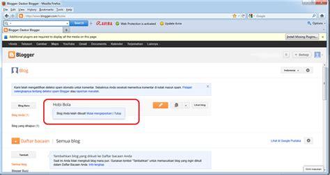 blogger atau blogspot cara mudah membuat blogger blog gratis di blogspot
