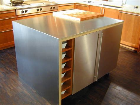 stainless steel kitchen island with butcher block top crosley alexandria kitchen island with stainless steel top