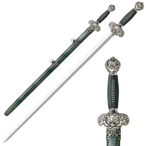 steel sword cold steel jade gim sword swords of might