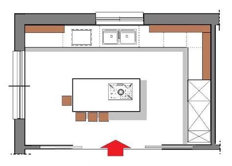 piantina cucina progettare una cucina minimal