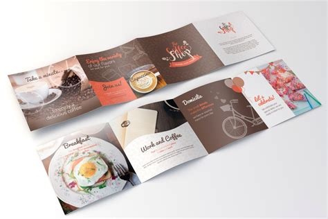 coffee shop brochure template coffee shop brochure template resume template ideas