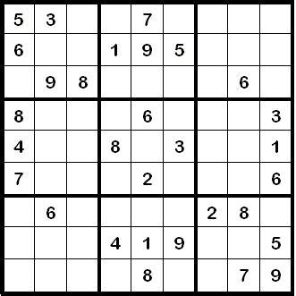 matte englisch wie ein sudoku leichter l 246 st