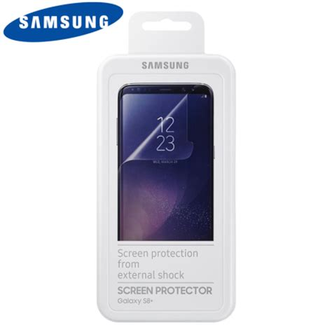 official samsung galaxy s8 plus screen protector twin pack