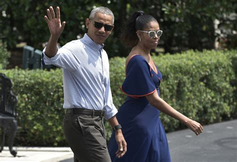 vacation obama barack obama wears backwards hat on vacation with michelle time com