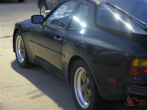 porsche 944 gold black 1984 porsche 944 2 door coupe gold fuchs 5 speed