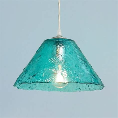 sea glass pendant light sea shell glass pendant light glass pendant light glass