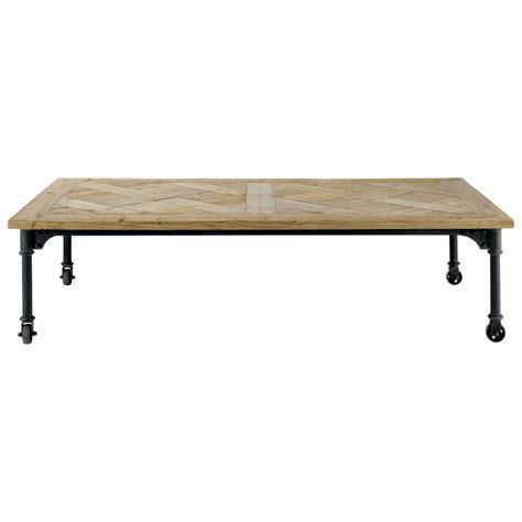 table industrielle maison du monde table basse rangement maison du monde ezooq