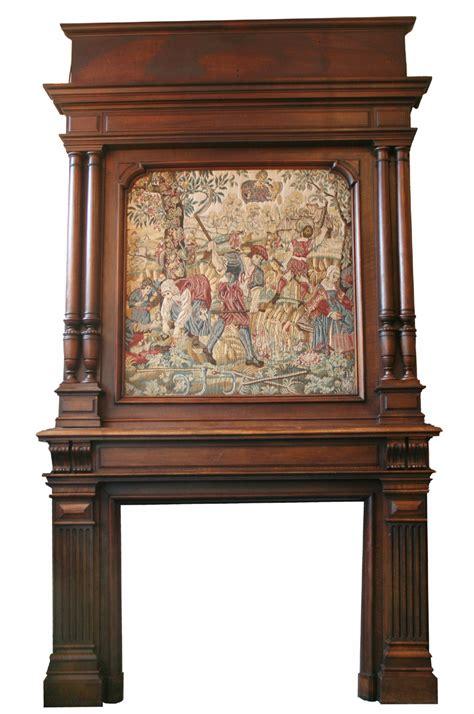 Vintage Fireplace Mantels For Sale by Renaissance Mantel For Sale Antiques