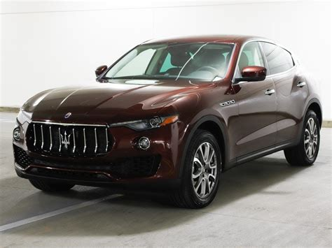 Certified Pre Owned Maserati by Certified Pre Owned 2017 Maserati Levante 350hp Awd 3 0l