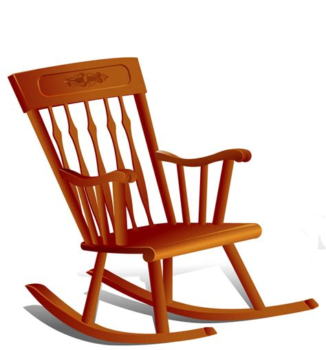 Chair Free by Brown Wooden Rocking Chair Clipart Cliparts And Others Inspiration