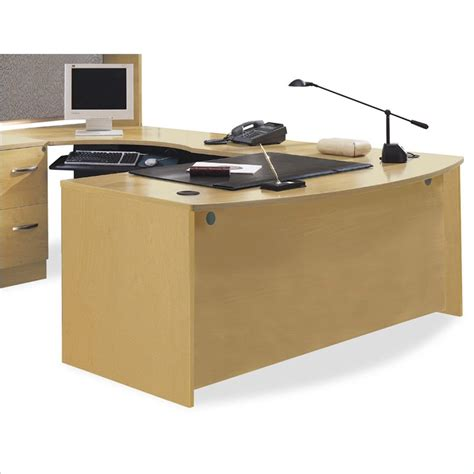 bush modular office furniture bush series c light oak 603 modular office