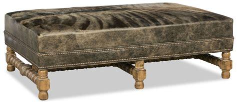 unique ottomans unique leather and fur ottoman