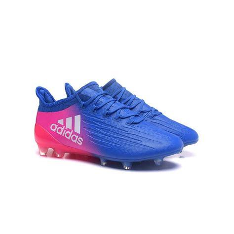chaussures de football adidas   agfg bleu rose