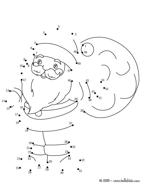 printable dot to dot holiday christmas sack coloring pages hellokids com