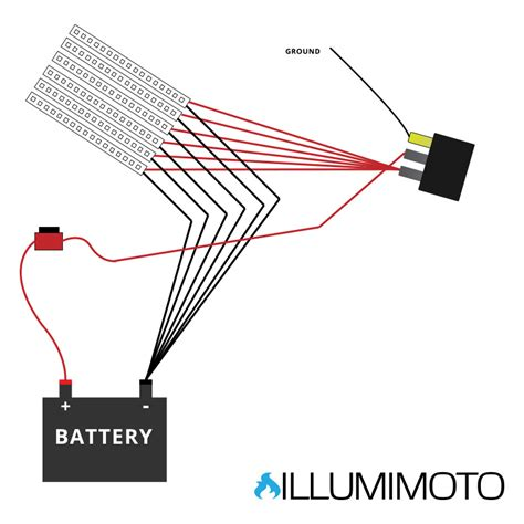 Illumimoto Motorcycle Led Light Wiring Diagram Get Free Wiring Led Lights