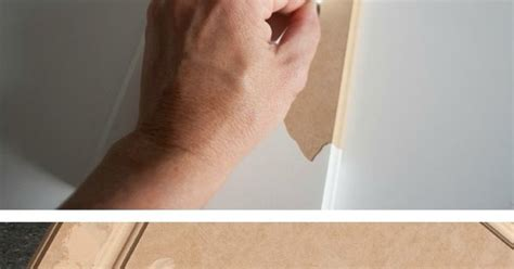 Cabinets Peeling Laminate by Peeling Patching And Painting Laminate Cabinets