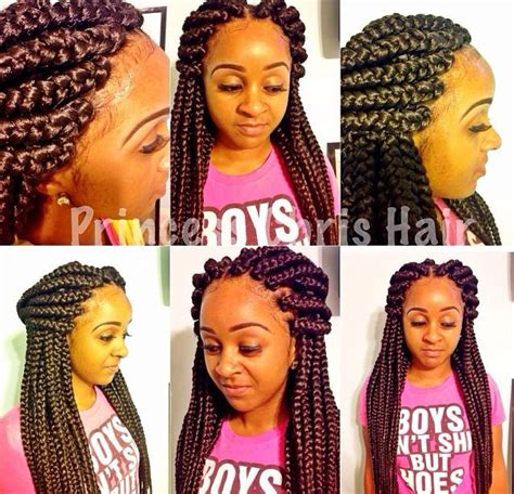 large box braids hairstyles large box braids 164 164 box braids 164 164 pinterest big