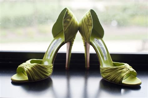 Wedding Shoes Green by Green Wedding Shoes Onewed