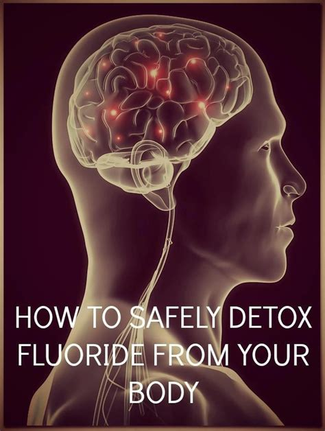 Distilled Water Detox Heavy Metals by How To Safely Detox Fluoride From Your 1 Thick