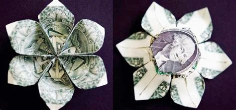 how to make a dollar origami how to make a three dollar origami flower 171 origami