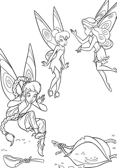 Tinkerbell And Friends Coloring Pages by Tinkerbell And Friends Coloring Page Coloring Home