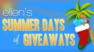Ellen Degeneres 12 Days Of Giveaways Contest - ellen degeneres 12 days of giveaways tom sullivan