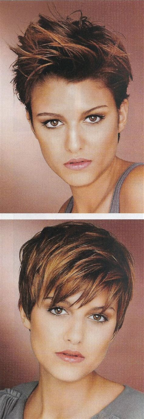 can you have a choppy pixie cut on a heart shaped face i have curly hair so i can never cut my hair this short