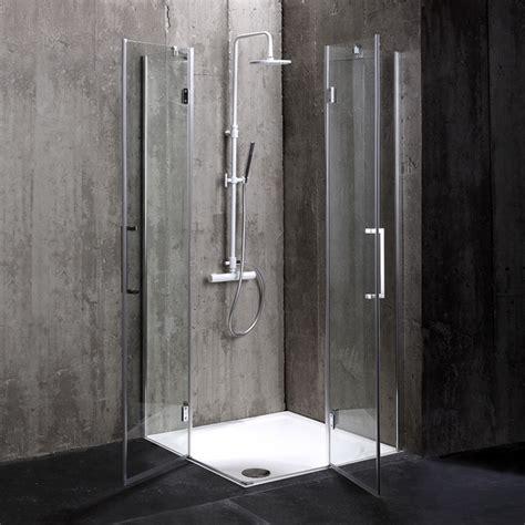cabine doccia in cristallo box doccia 80x80 in cristallo senza telaio