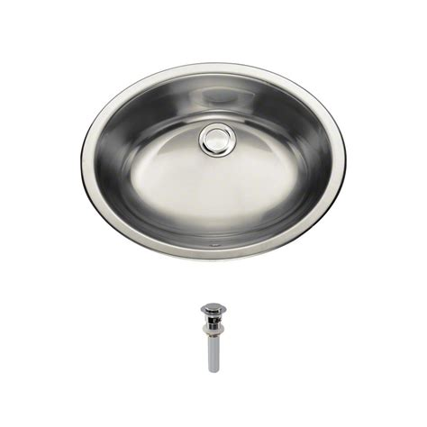 mr direct bathroom sinks mr direct dual mount bathroom in stainless steel with