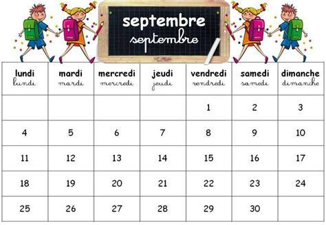 Calendrier Septembre 2017 Maternelle Les 25 Meilleures Id 233 Es De La Cat 233 Gorie Calendrier 2017