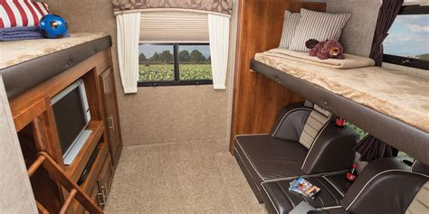 Camper Floor Plans With Bunk Beds 2016 eagle luxury travel trailers jayco inc