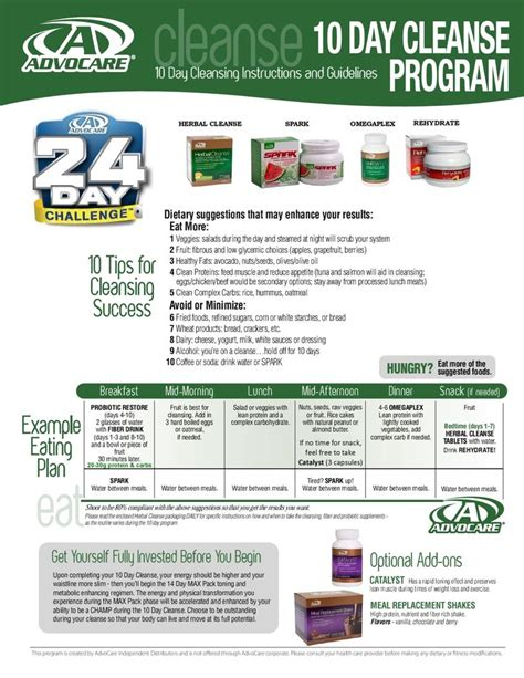 Advocare Detox by 87 Best Images About Advocare On