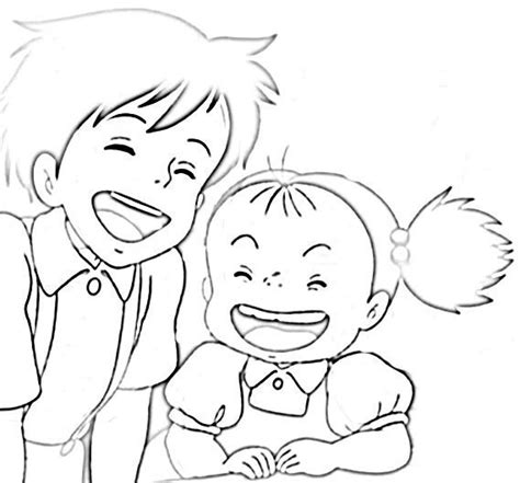coloring pages ponyo ponyo coloring pages coloring home