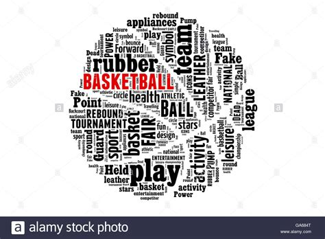 design concept words list basketball word cloud words concept ball athletics black